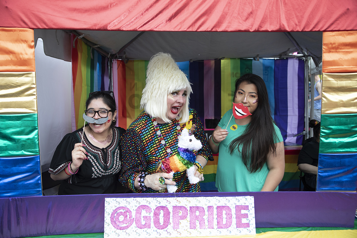 PrideFest at the GoPride Photo Booth (Sunday Gallery 2)