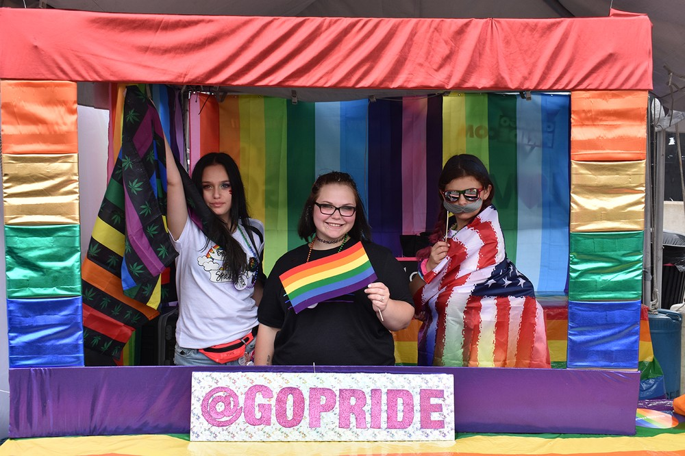 PrideFest at the GoPride Photo Booth (Sunday Gallery 1)